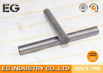 China 1/4 Inch Durable Pure Graphite Rod , Custom Shape Stirring Graphite Round Bar supplier