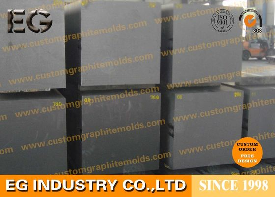 China Rods Carbon Graphite Block Custom Size For Diamond Tools Casting Industry supplier