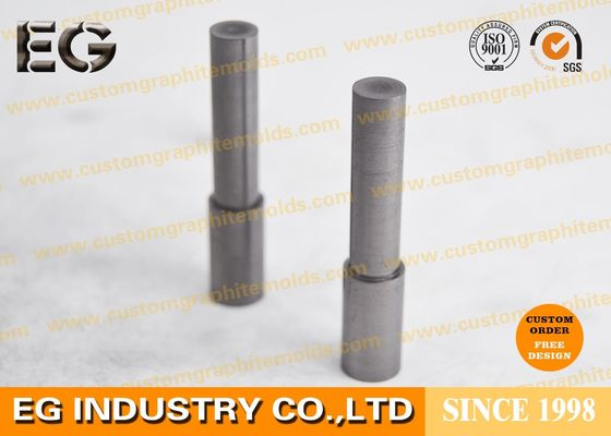 China Fine Extruded Graphite Stirring Rods , Electrical Conductivity Graphite Casting Rods supplier