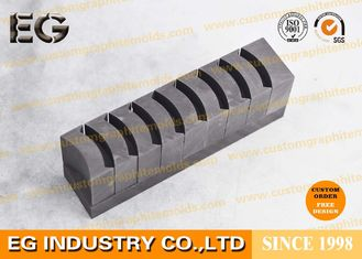 China Cellular Custom Graphite Molds , Exothermic Welding Sintering Graphite Ingot Mold supplier