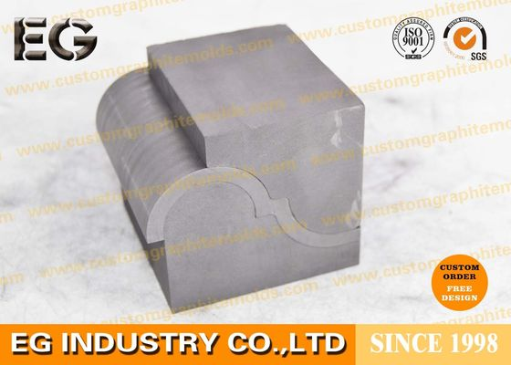 China Extrusion Polishing Fine Grain Custom Graphite Ingot Molds , Grinding Wheel Metal Casting Molds supplier