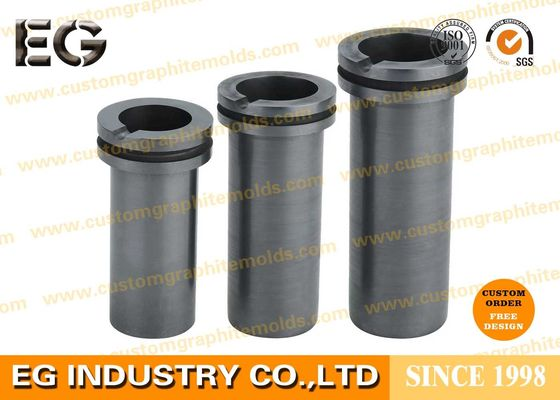China High Purity Carbon Graphite Crucible Copper Gold Machined With High Density supplier