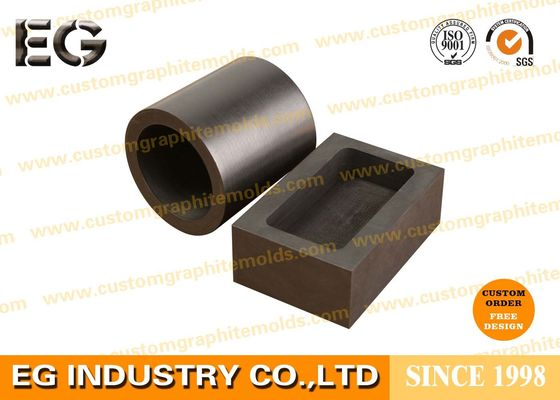 China Custom Size Machined Large Graphite Crucible , Chemical Stability 4 KG Graphite Crucible supplier