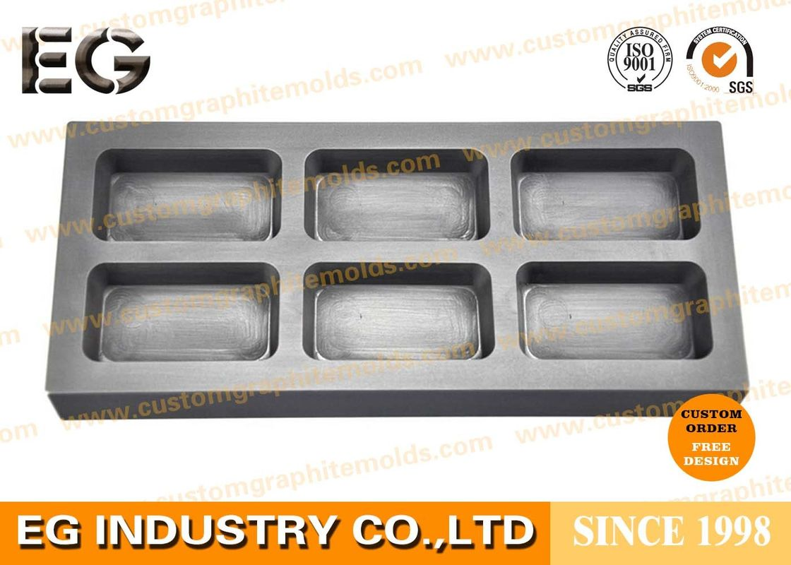 High Temperature Resistance Graphite Ingot Mold Customized