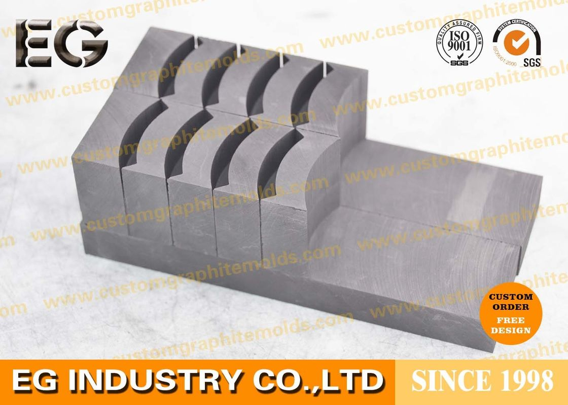 Diamond Segments Saw Blade Graphite Gauge Mold , 1 80g/cm3 density