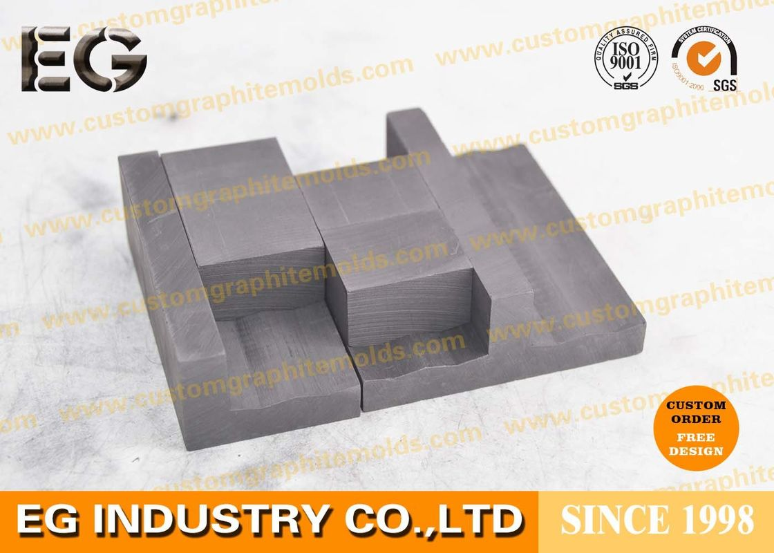 High Purity Custom Graphite Molds With 0 3% Low Ash Content