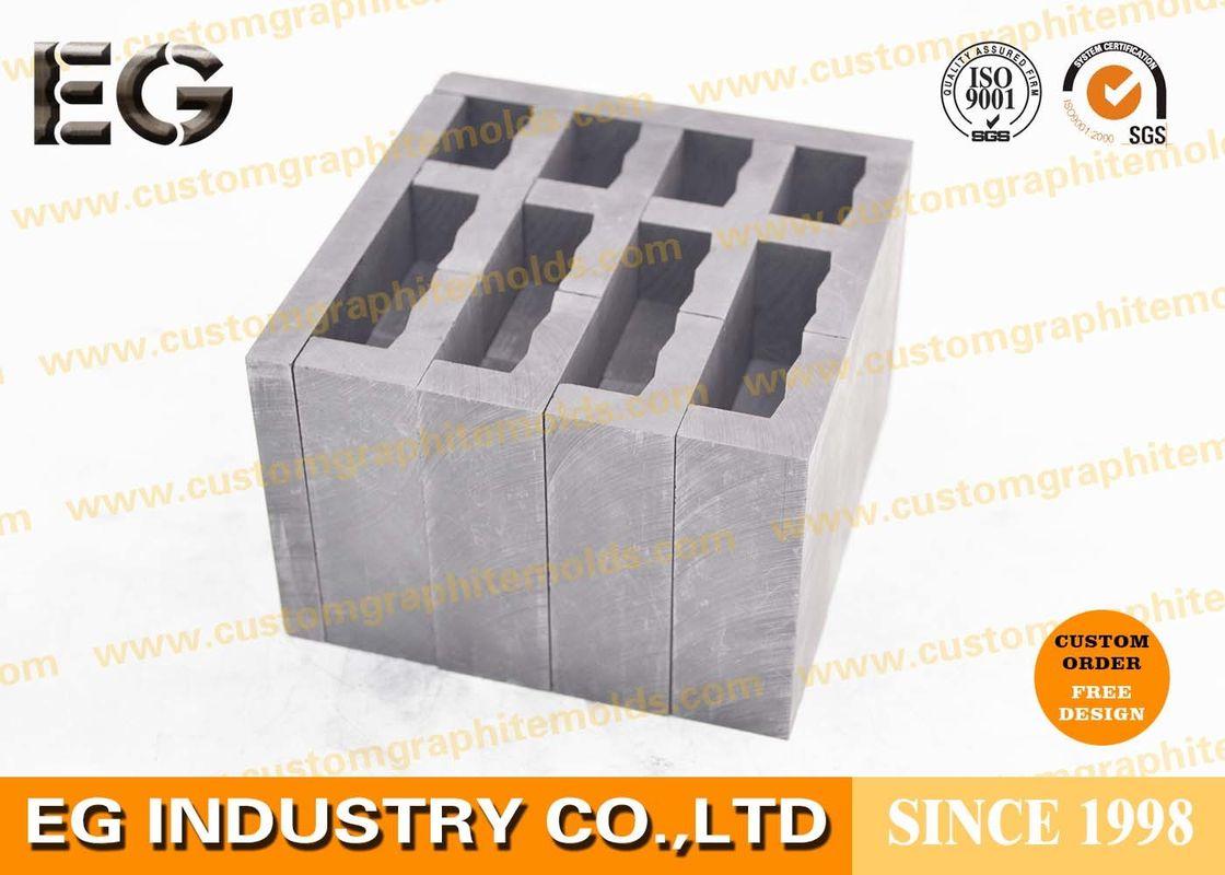 """1/2"""" OZ High Density Graphite Ingot Mold , Durable Glass"""
