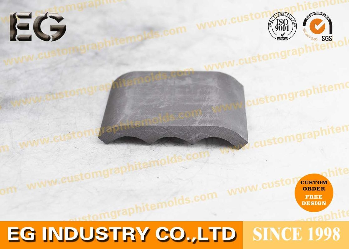 Isostatically Carbon Graphite Plate Metallic Luster Polished Round