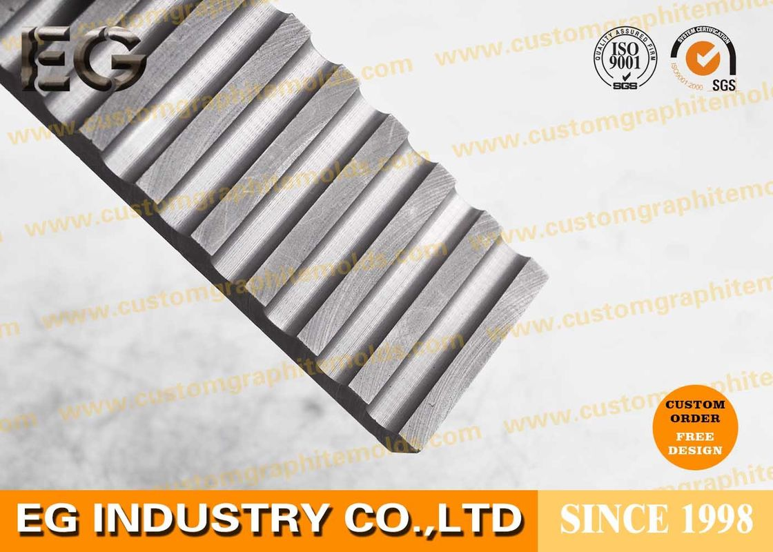 Hot Pressed Diamond Cutting Gold Graphite Mold , Discs