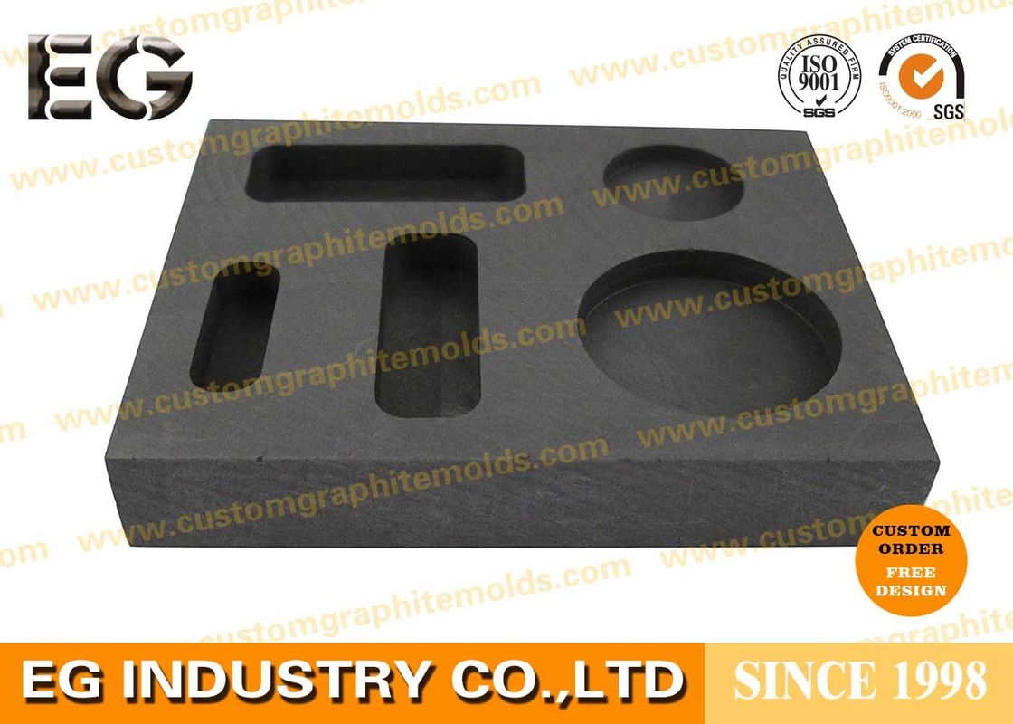 High density Casting Graphite Ingot Mold Custom Design for