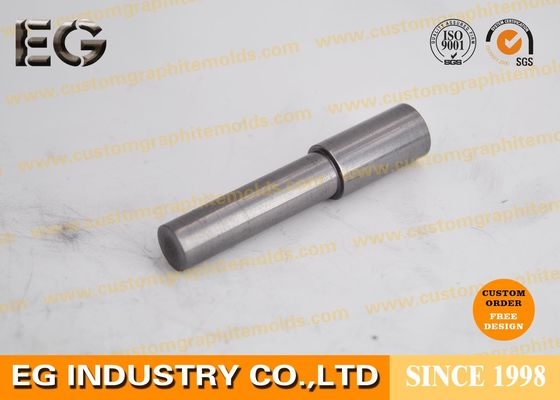"Small Solid Graphite Rod Carbon Stirring 1/4"" OD 12"" Length 13% Porosity"