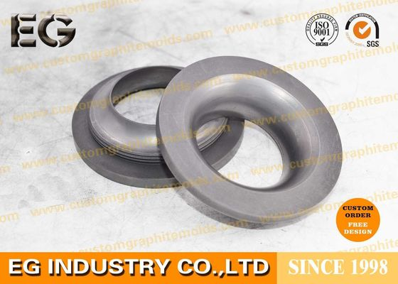 Polished Machined Carbon Graphite Rings Custom Size With High Coefficient Restitution