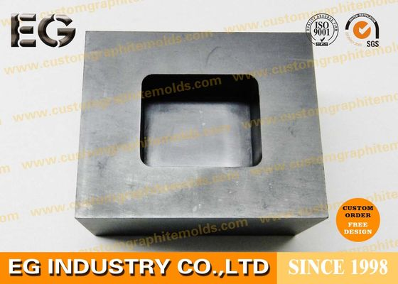 Copper Graphite Ingot Mold High Pure Material Custom Shape For Sintering Industries