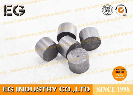 10mm OZ Small Carbon Graphite Block , Self Lubrication Bearing Casting Graphite Granule