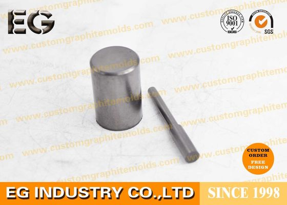 China Stirring 0.25 Inch OD Graphite Round Bar , Electrical Conductivity Graphite Cylinder factory