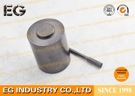 China Extrusion Polishing Carbon Stirring Rod , Self Lubricating Graphite Round Bar factory