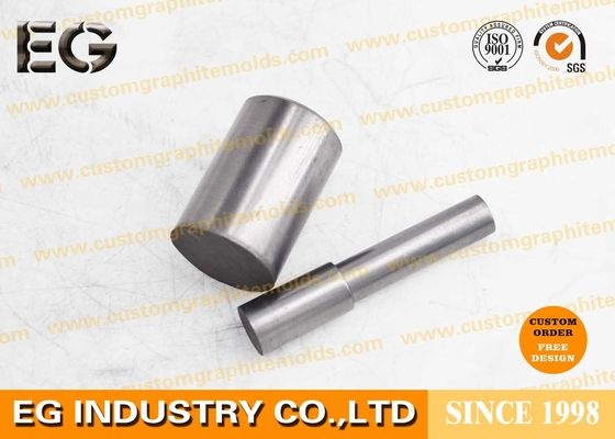 "China High Purity Solid Graphite Rod Black Electrode Cylinder Bars 0.25"" For Industry Tools factory"