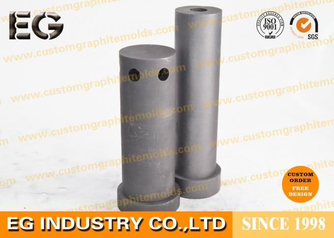 Low Friction Self Lubricating Bearing , Lubrication Carbon Graphite Bushings