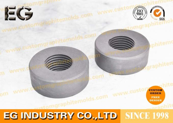 Small Graphite Rod Electrodes , High Temperature Resistance Graphite Cylinder